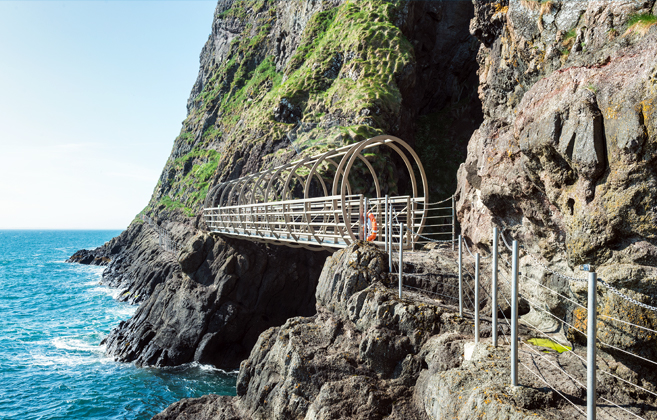 The Gobbins Cliff Path | Shaped by Sea and Stone
