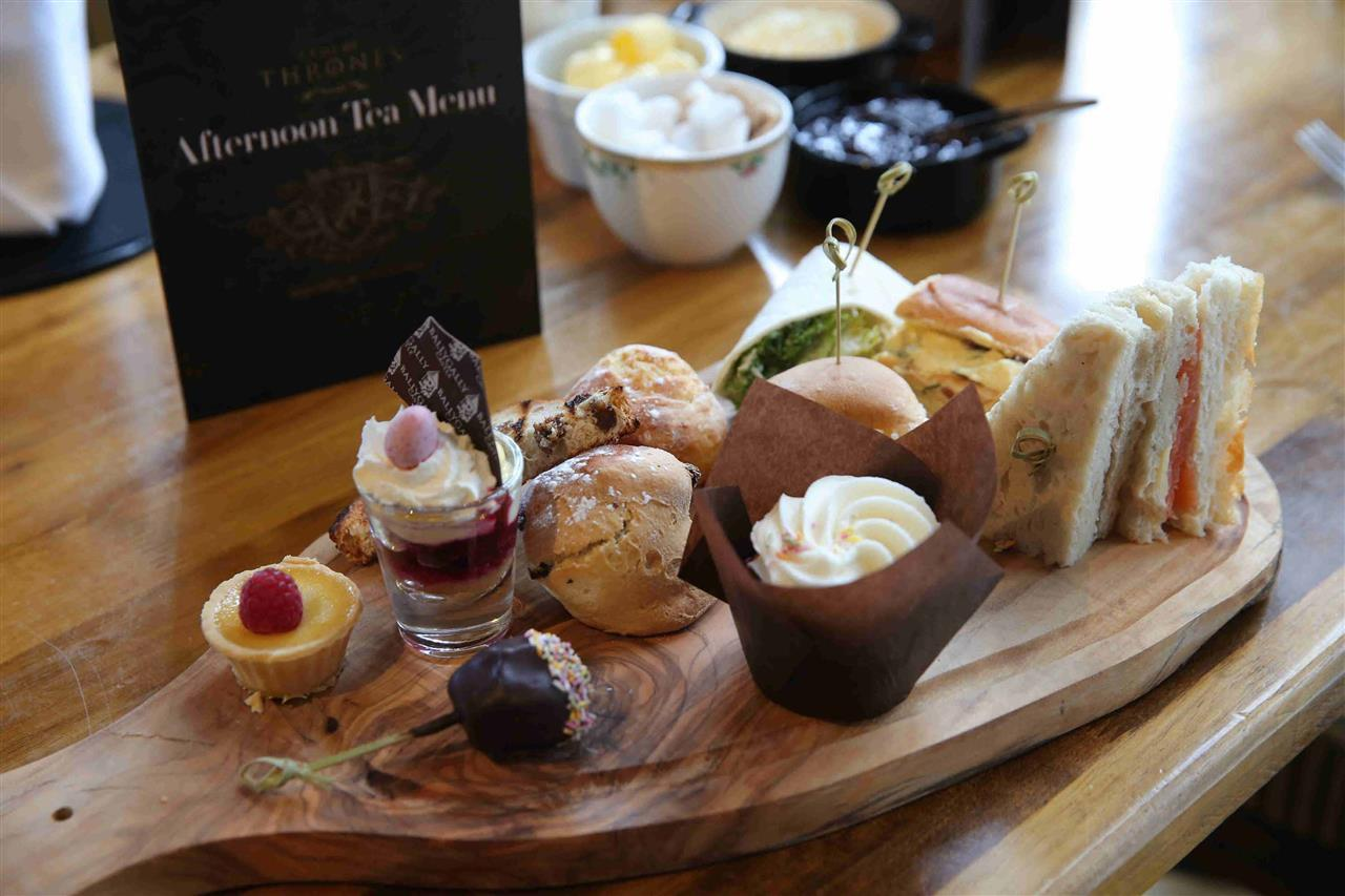Game of Thrones Afternoon Tea at Ballygally Castle Hotel