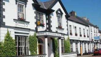 Dining at the Londonderry Arms Hotel