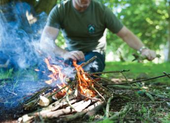 Bushcraft at Carnfunnock Country Park | Shaped by Sea and Stone